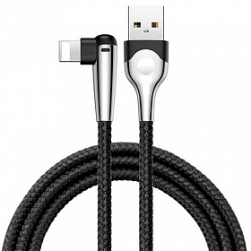 Baseus sharp-bird mobile game cable USB For lightning 2.4A 1M Black
