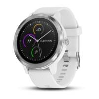 Garmin Vivoactive 3 White with Stainless Hardware