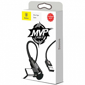 Baseus MVP Elbow Type Cable USB For Type-C 2A 1M Black