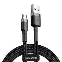 Baseus cafule Cable USB For Micro 2.4A 0.5M Gray+Black
